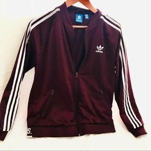 Classic Adidas Striped Jacket